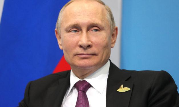 Putin's Polling Numbers